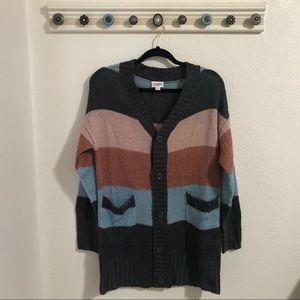 NWOT Striped Lularoe Lucille Cardigan Sweater